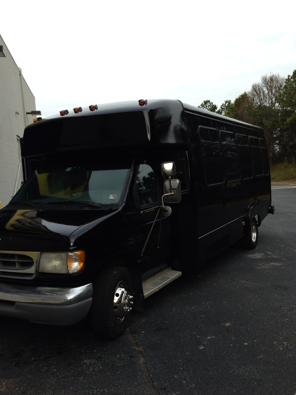 Alpharetta Party Bus Exterior